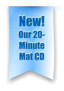 New! Our 20-Minute Mat CD