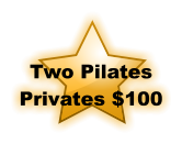 Two Pilates Privates $100